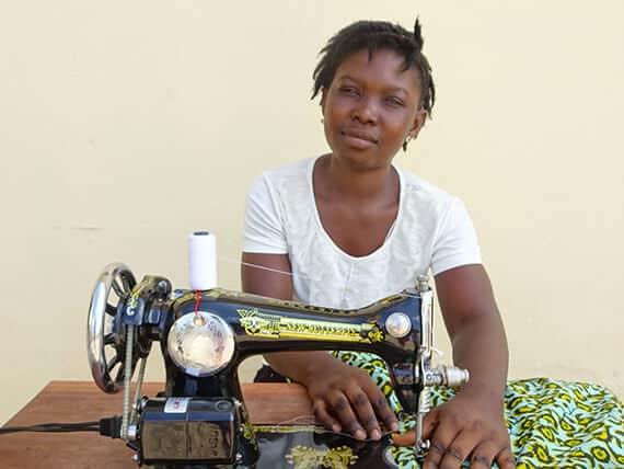 TUMI Ghana student